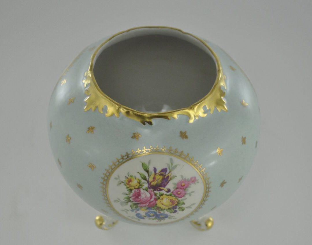 Винтажная фарфоровая вазочка