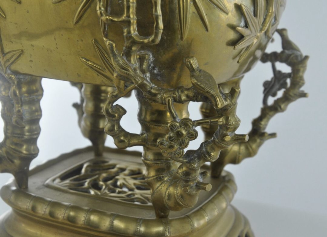 Винтажный брюль парфюм из бронзы