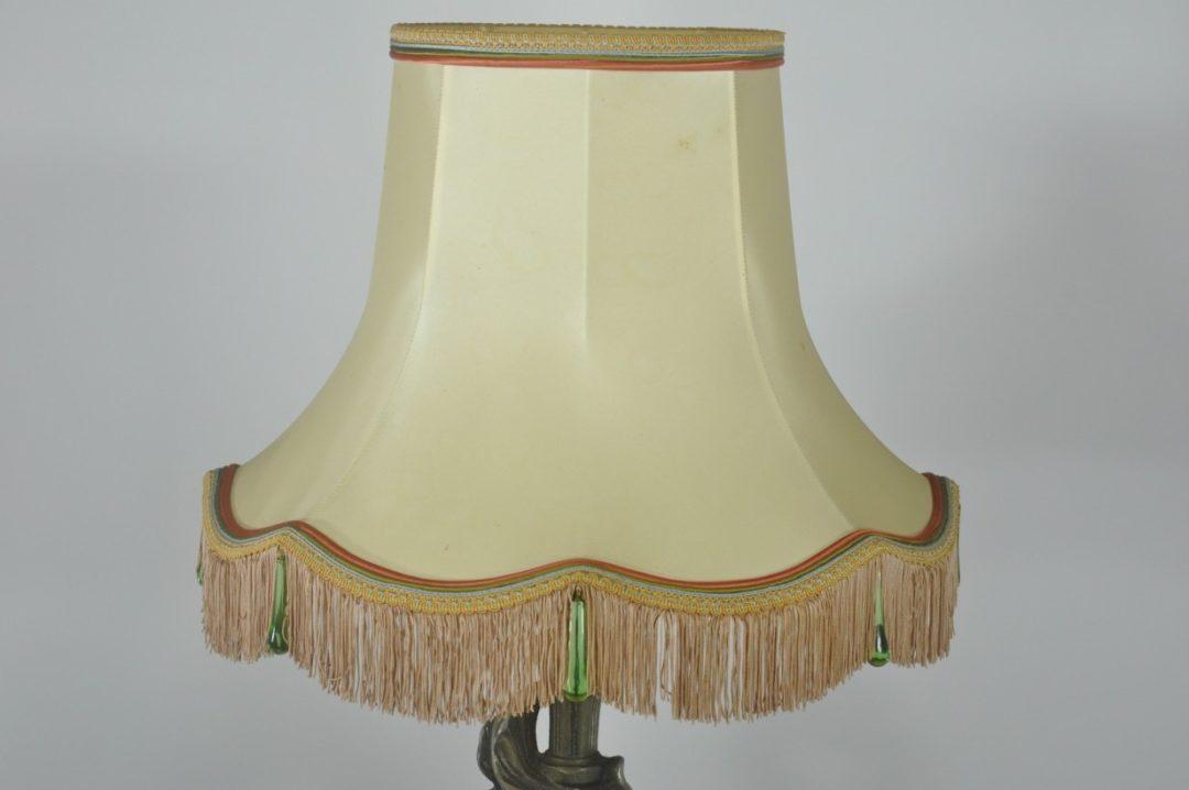 Винтажная бронзовая лампа из бронзы