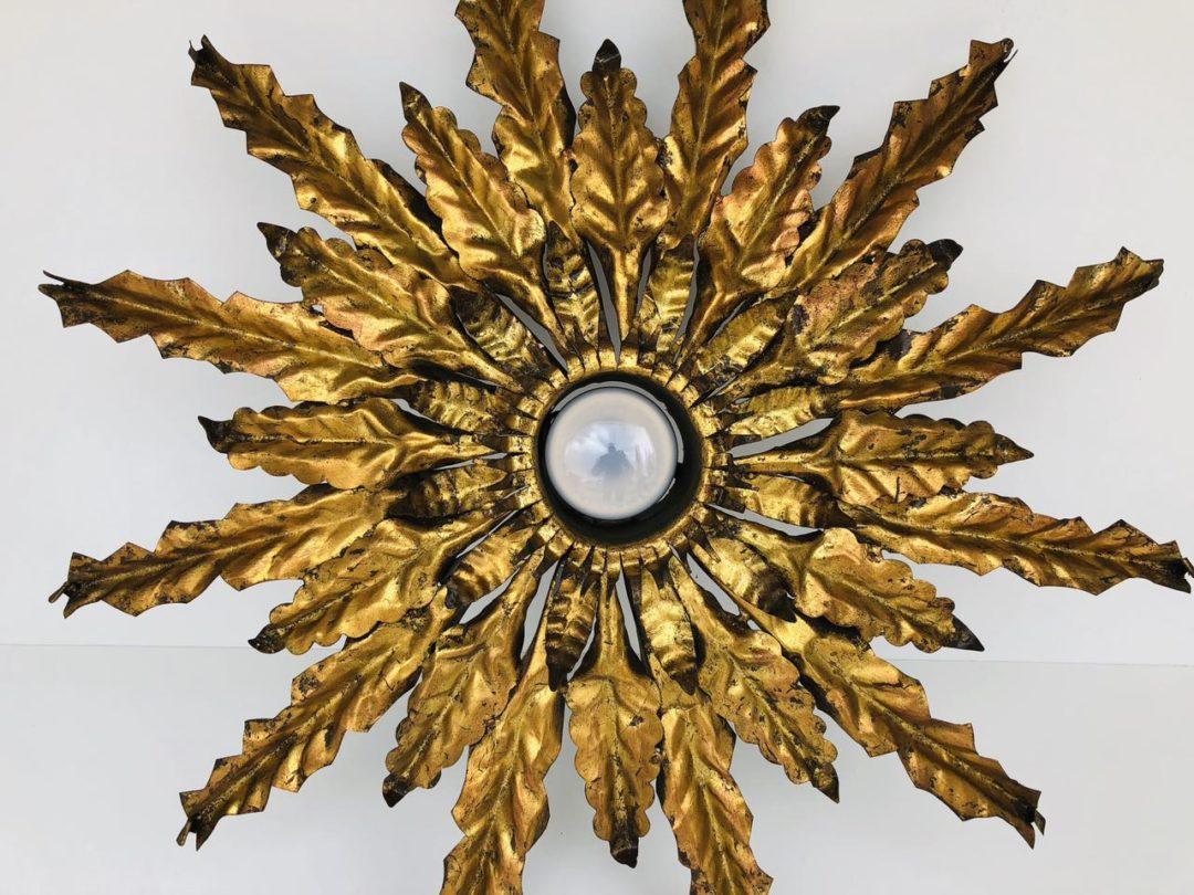 Винтажная потолочная лампа