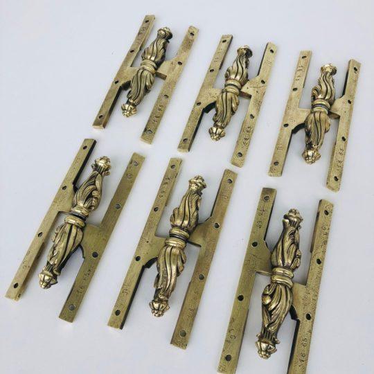 Антикварные бронзовые завесы для внутренних дверей