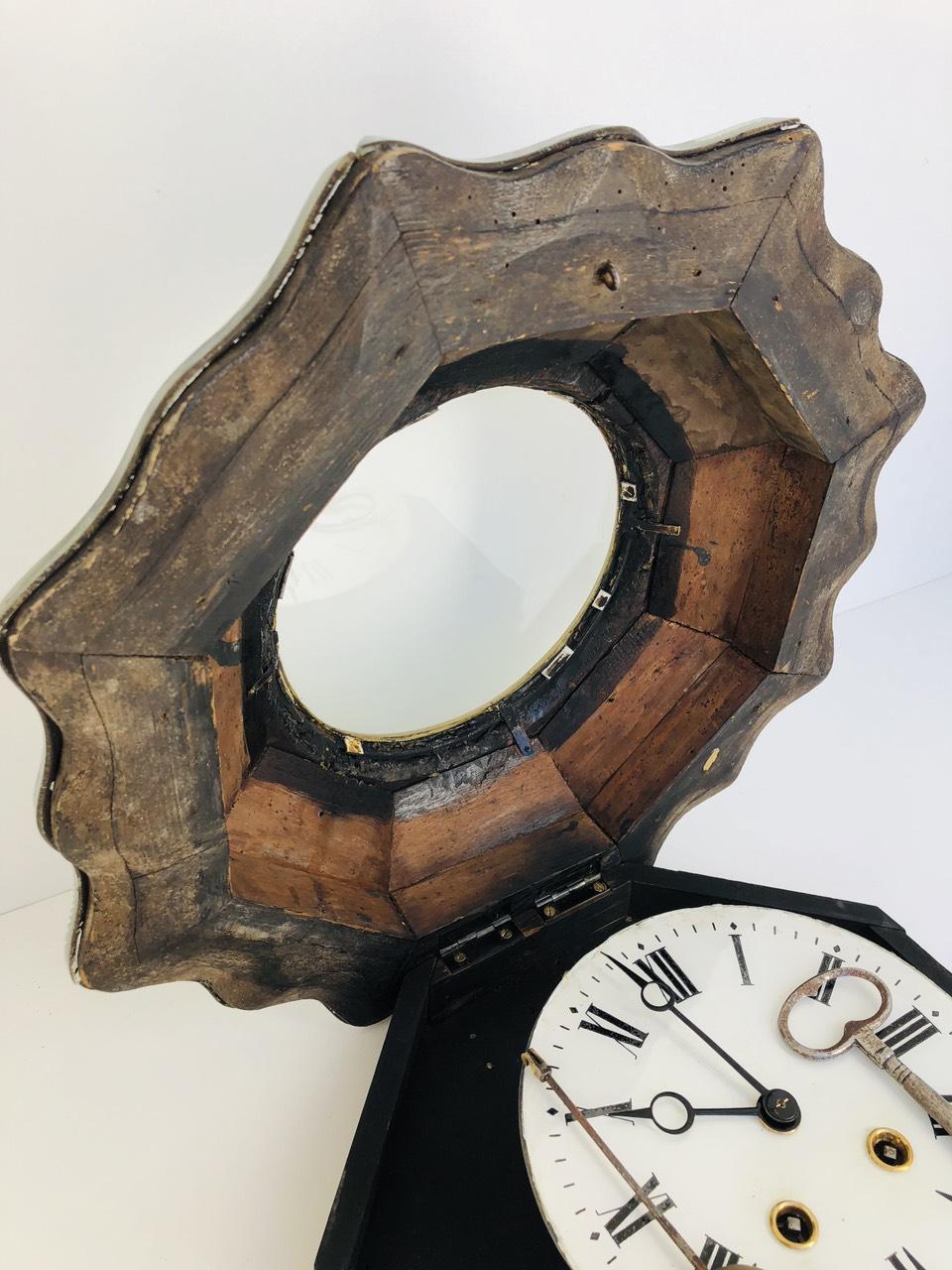 Антикварные настенные часы