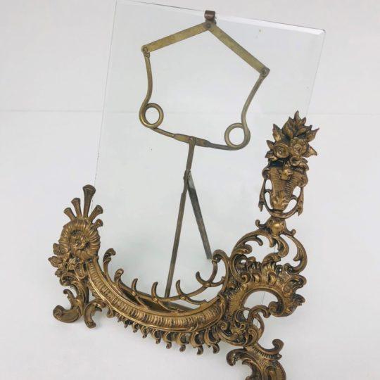 Антикварная бронзовая рамка под фотографию