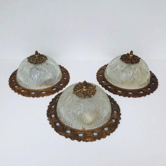 Винтажные потолочные фонари
