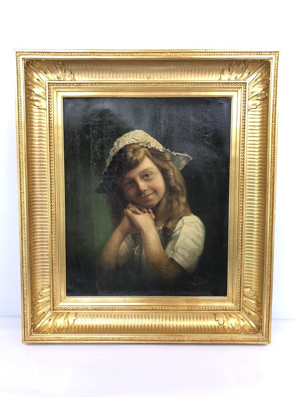Антикварная живопись начала 20-го века
