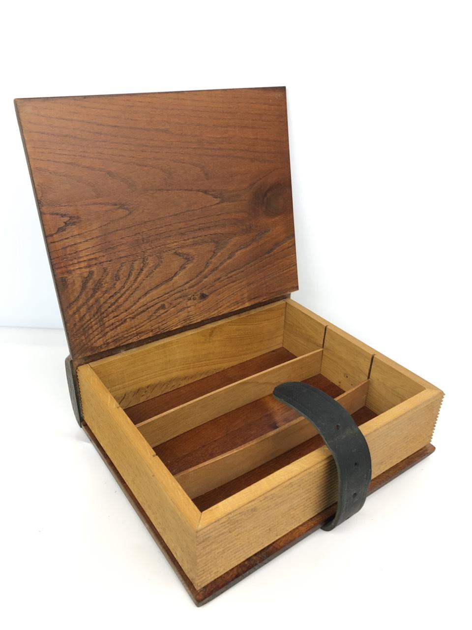 Винтажная деревянная шкатулка