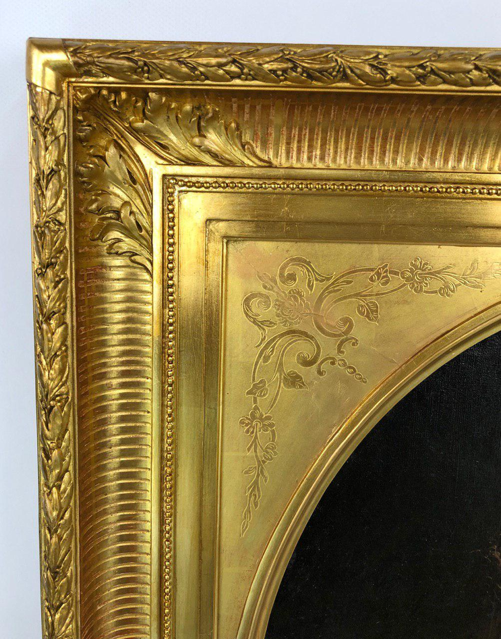 Антикварная живопись второй половины XIX века