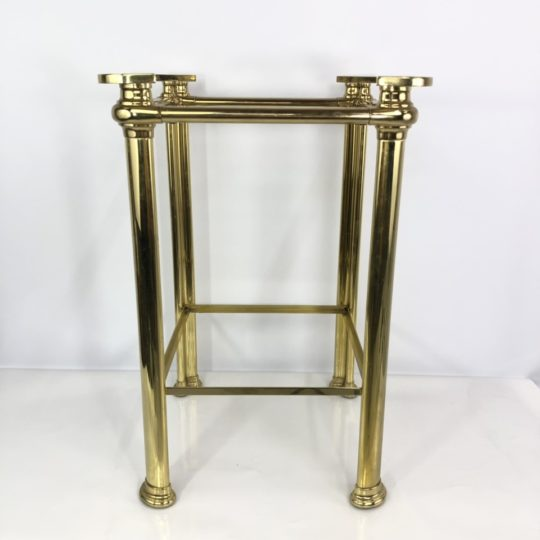 Винтажный латунный столик
