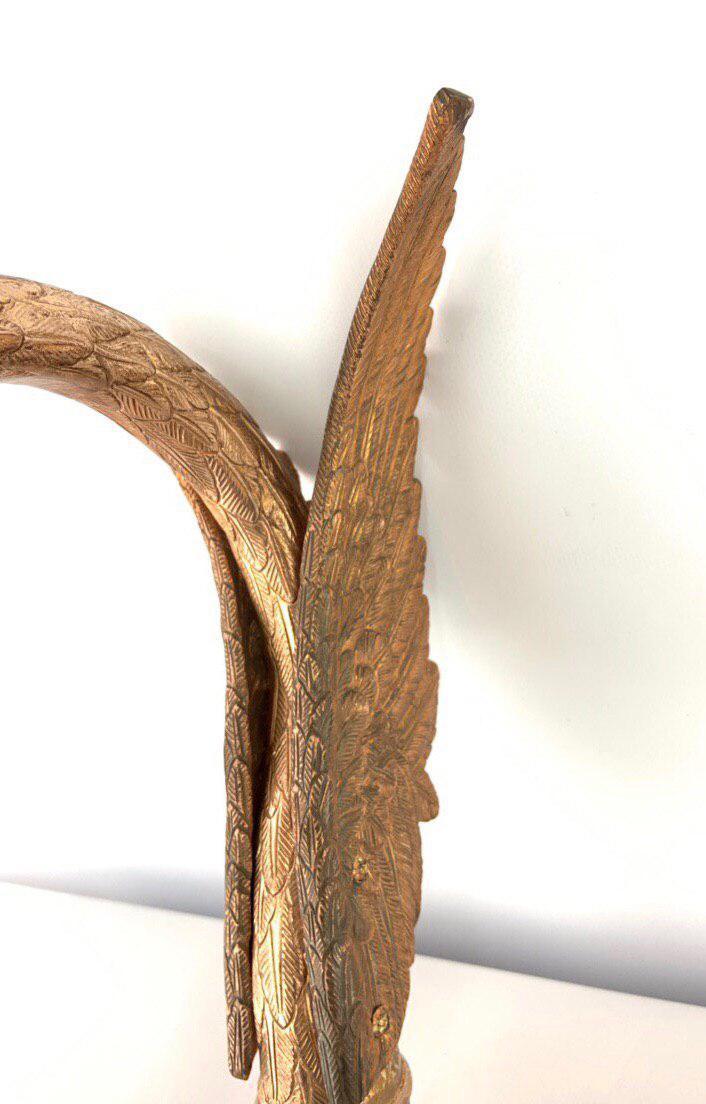 Винтажный бронзовый кран