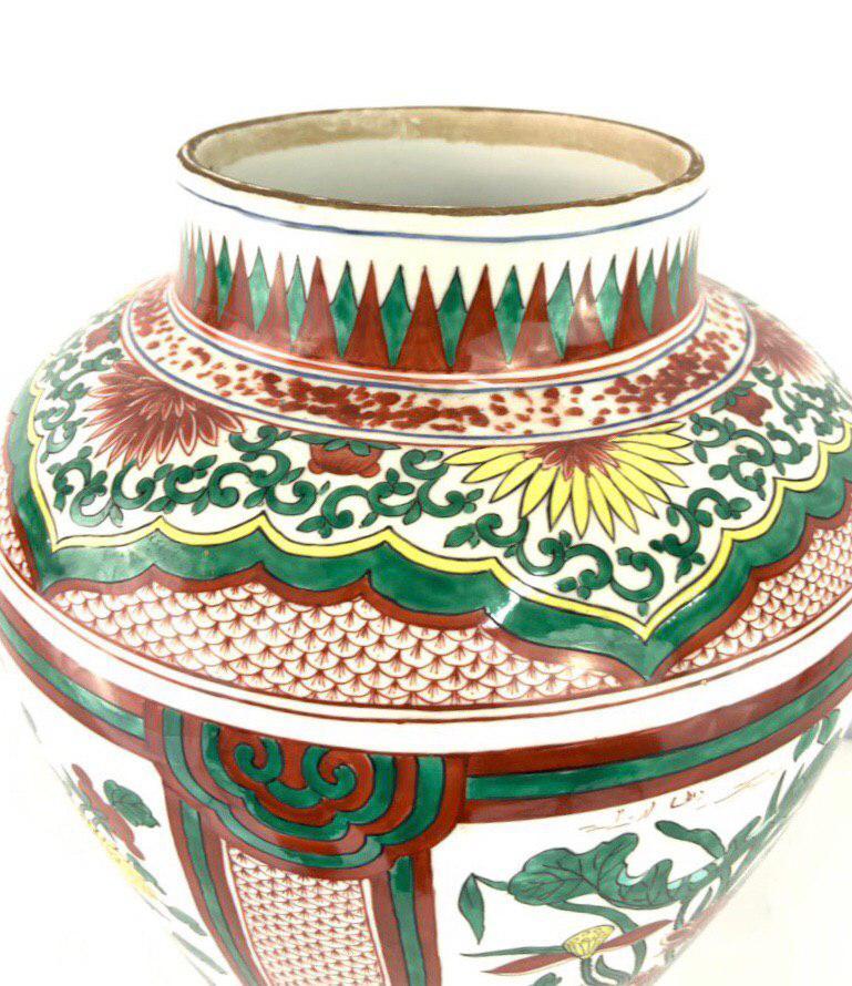 Антикварная фарфоровая ваза