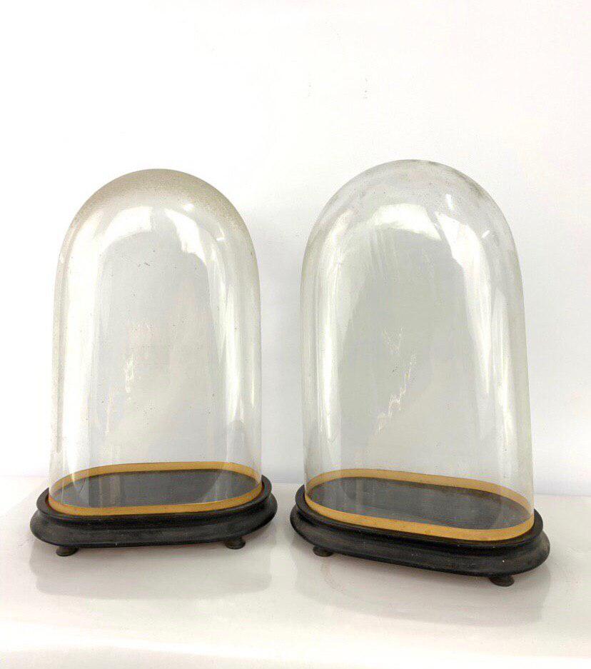Антикварные стеклянные колбы