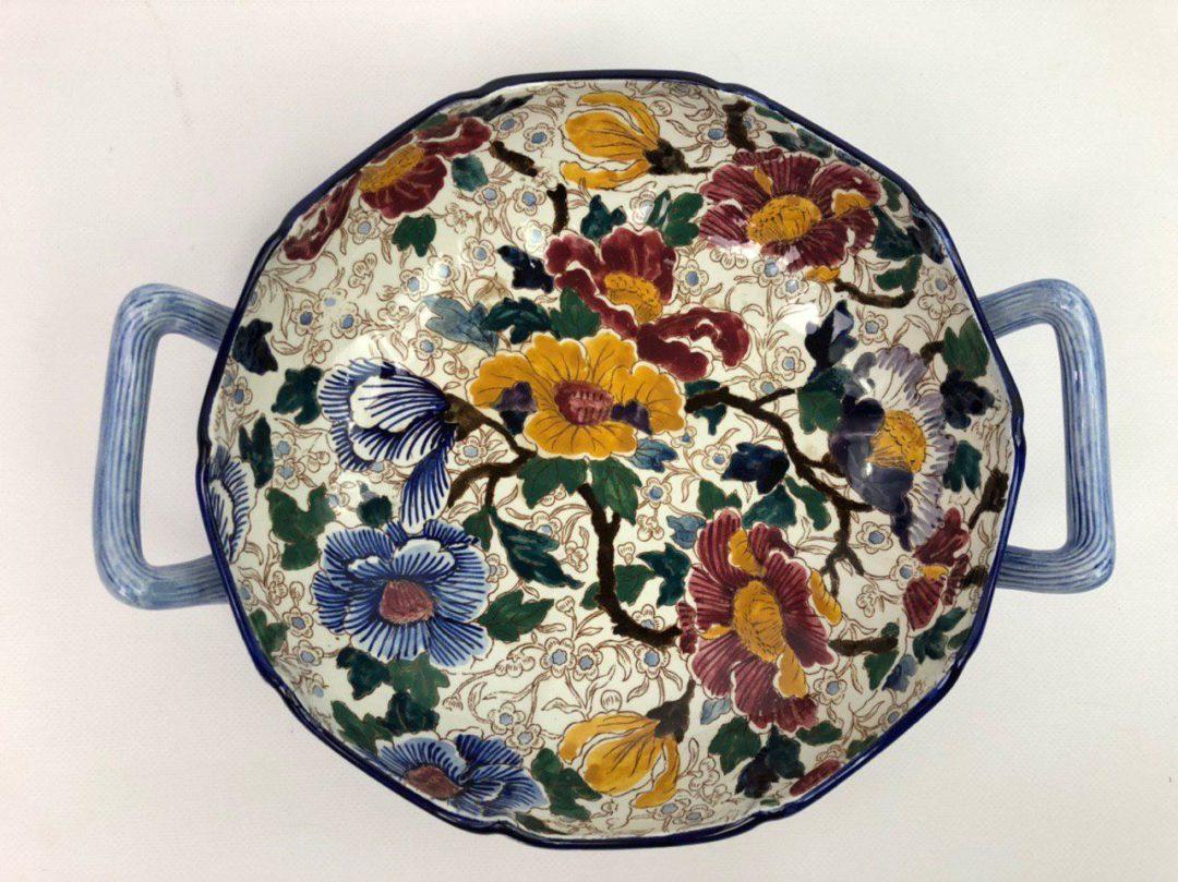 Винтажная тарелка мануфактуры Gien