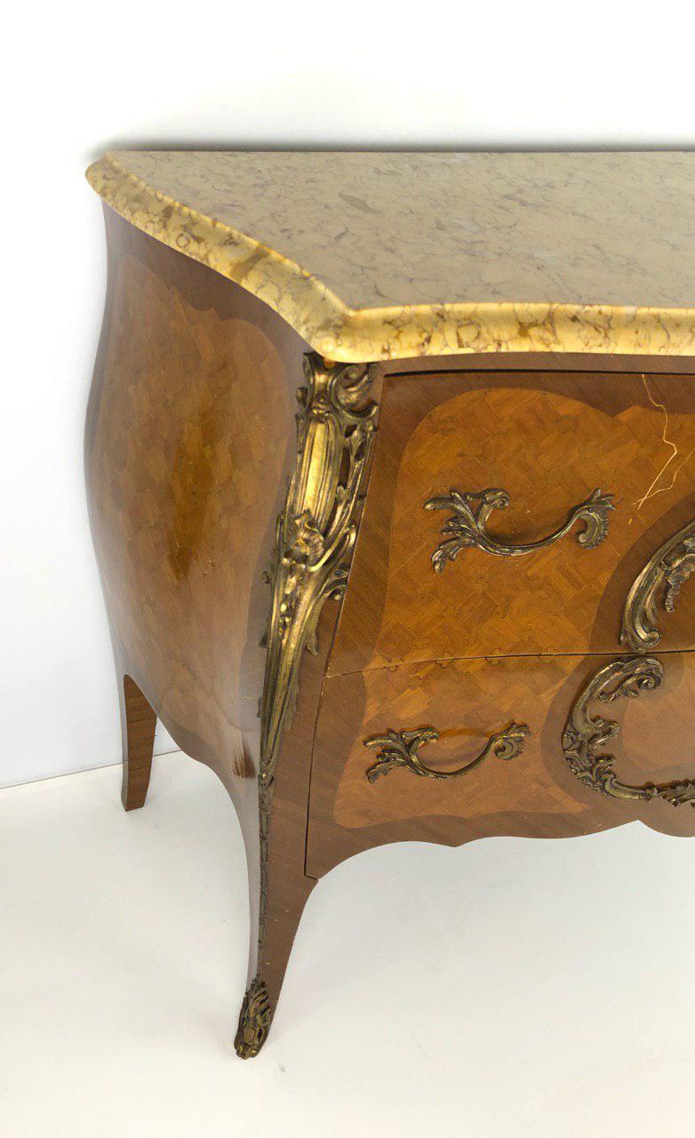 Винтажный комод в стиле Луи XV