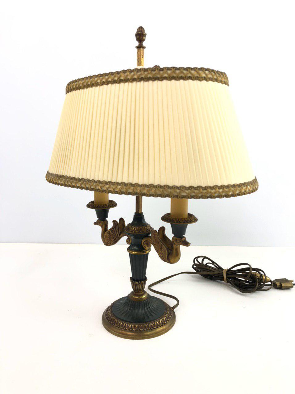 Антикварная лампа в стиле Ампир