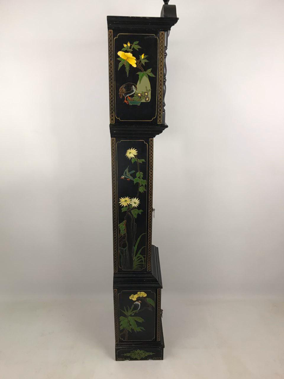 Винтажные часы в стиле Шинуазри