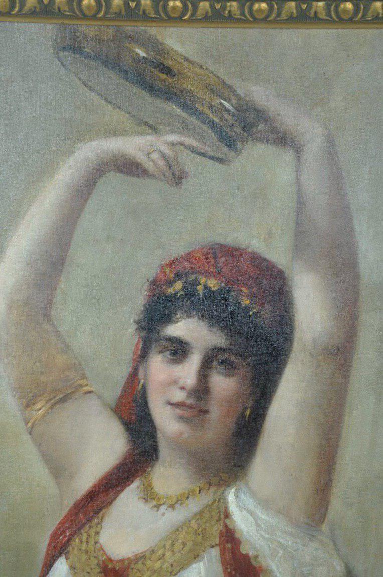 Антикварная живопись конца 19-го века