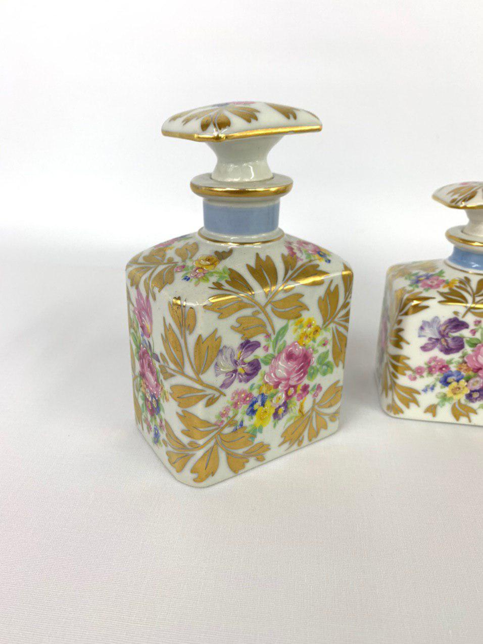 Винтажные фарфоровые флаконы от Limoges