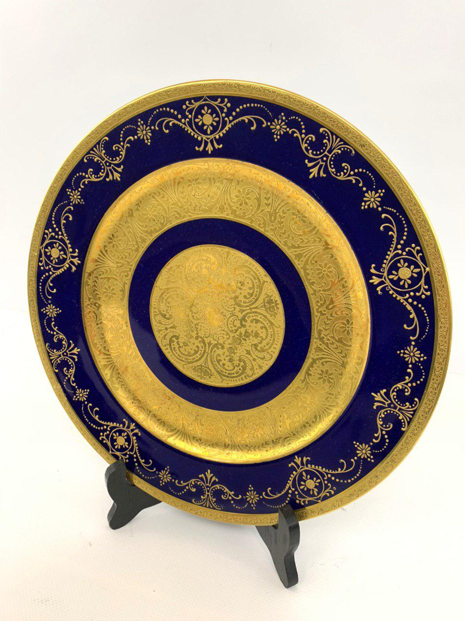 Антикварная тарелка мануфактуры Limoges
