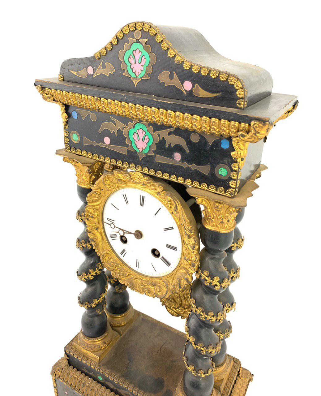 Антикварные часы эпохи Наполеона III