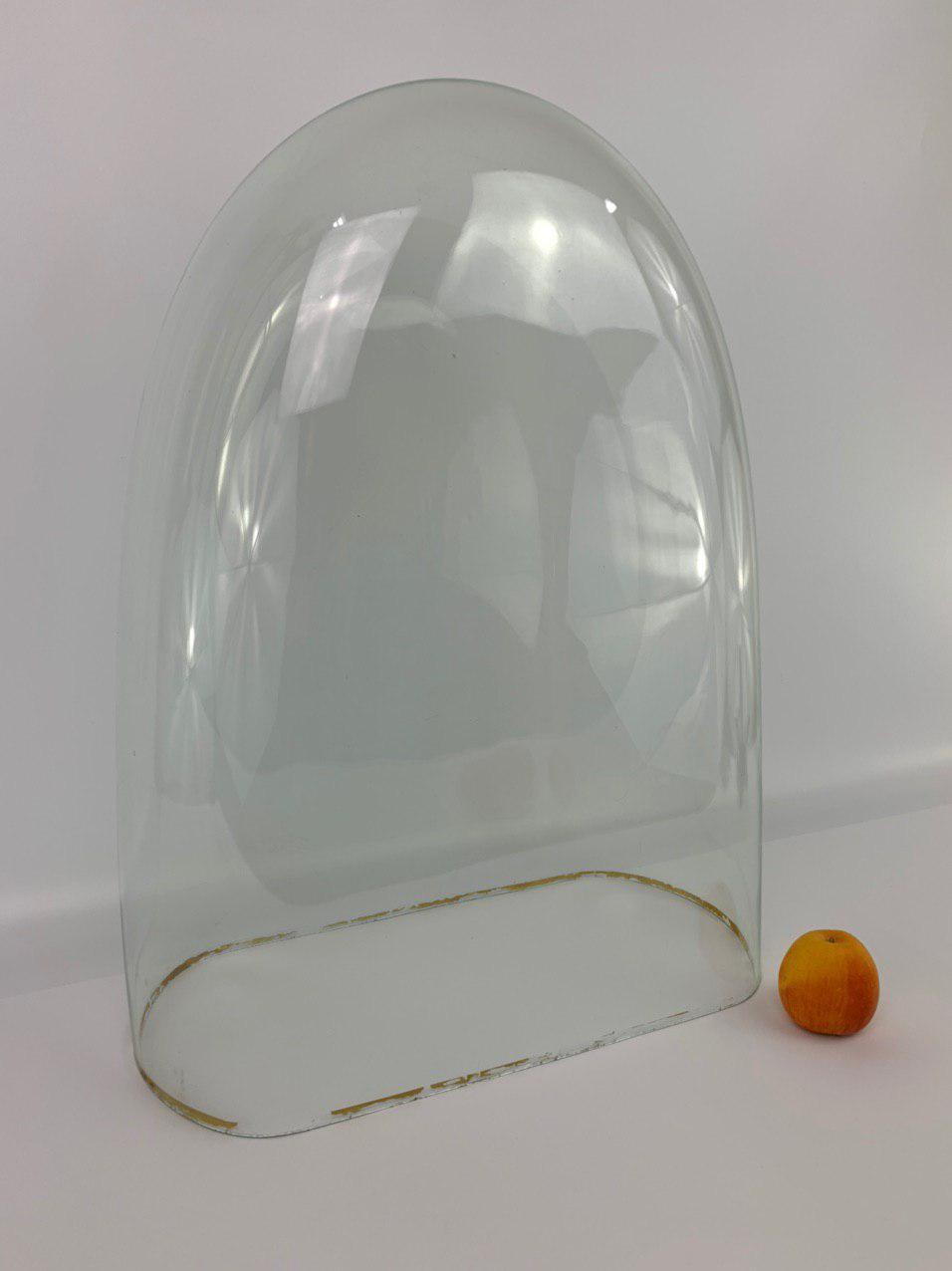 Антикварная стеклянная колба