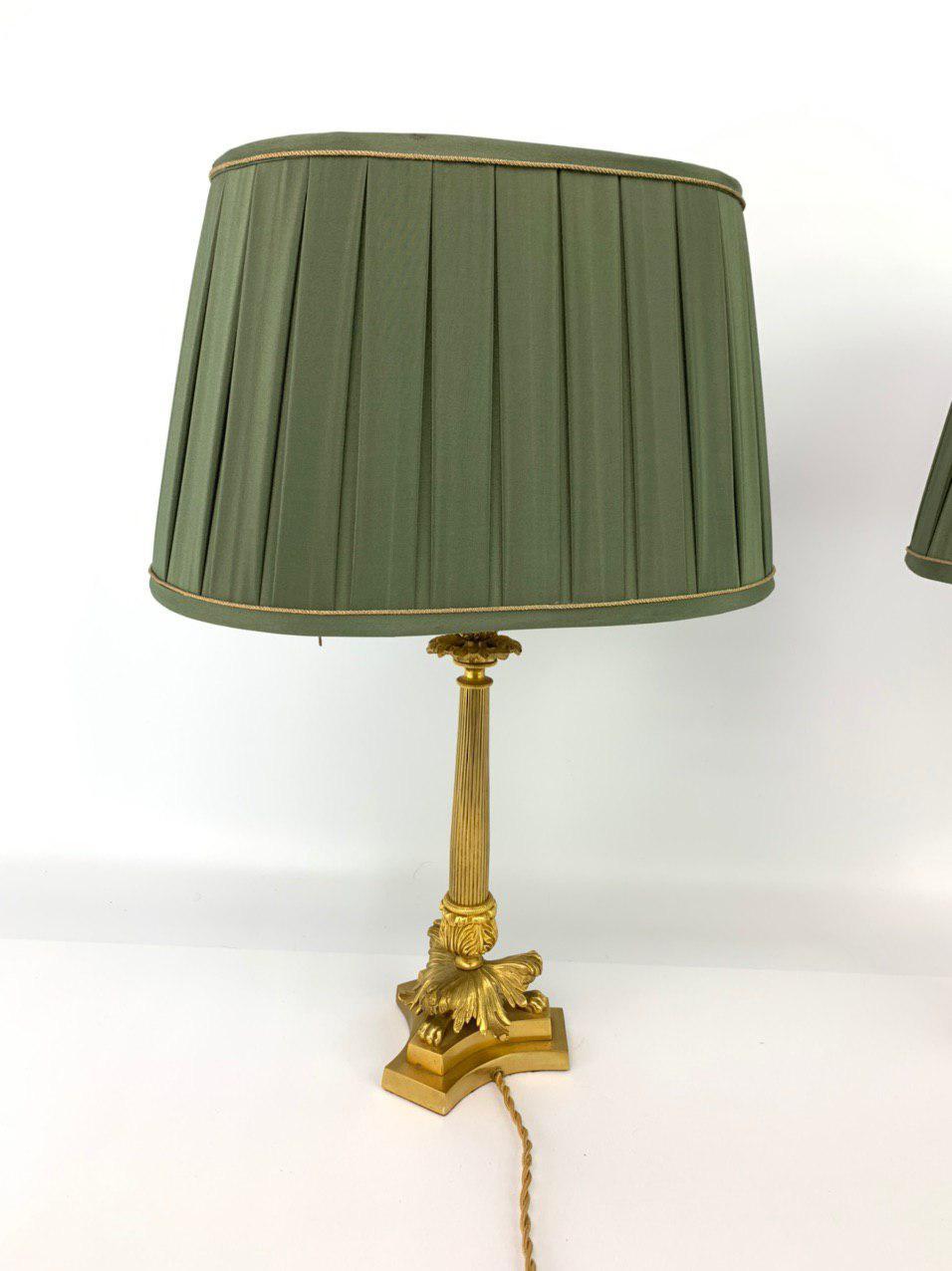 Антикварная пара светильников в стиле Ампир