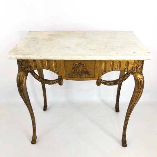 Антикварный столик-консоль