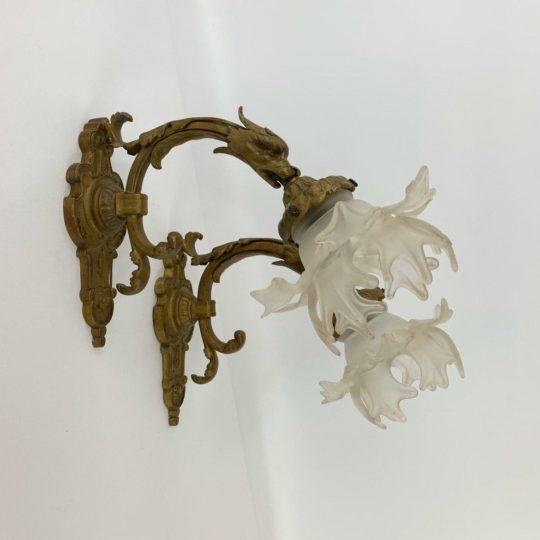 Антикварные бра из бронзы