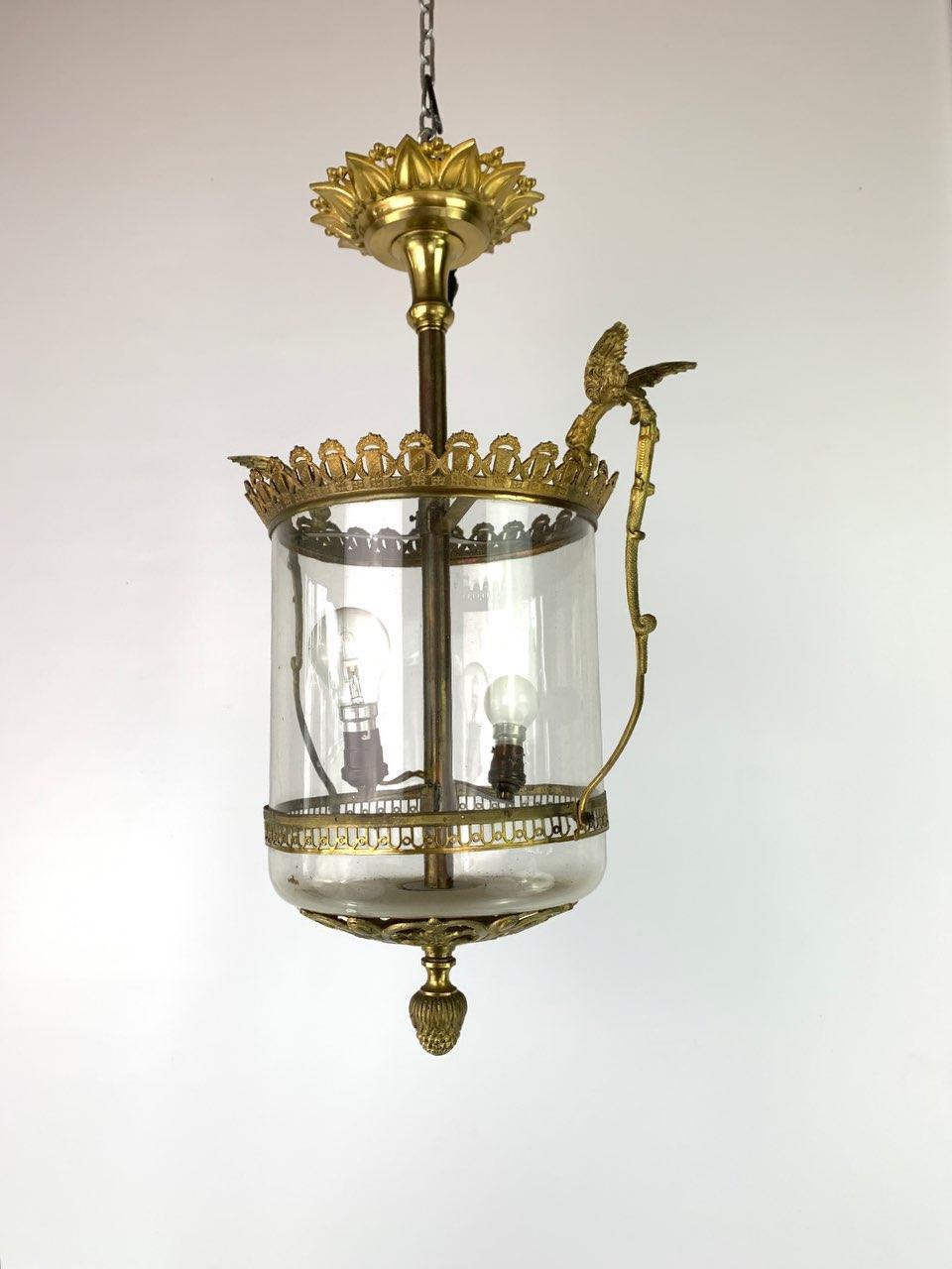 Антикварный фонарь