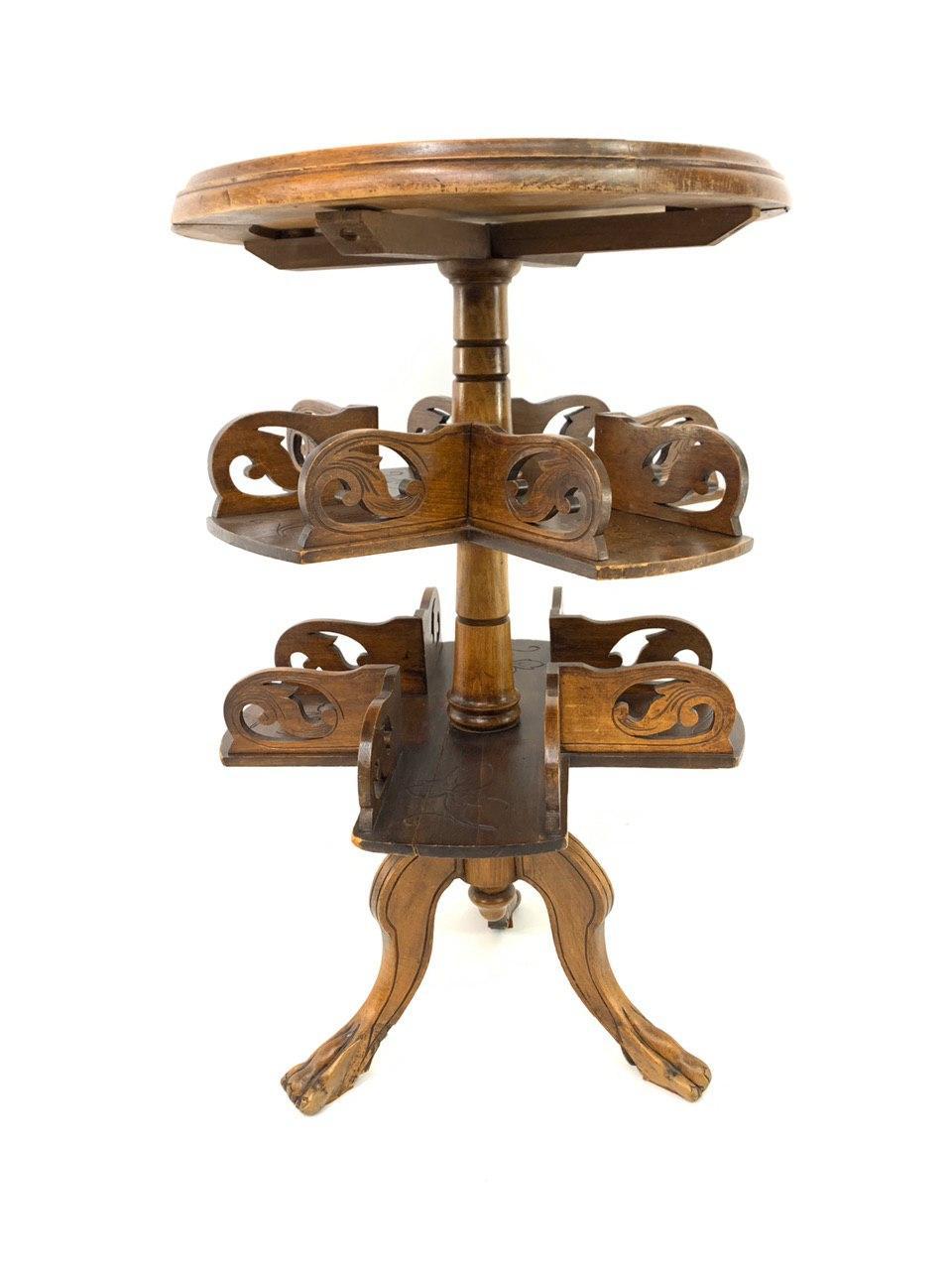 Антикварный столик курильщика