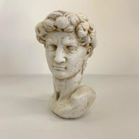 Винтажный бюст Давида Микеланджело