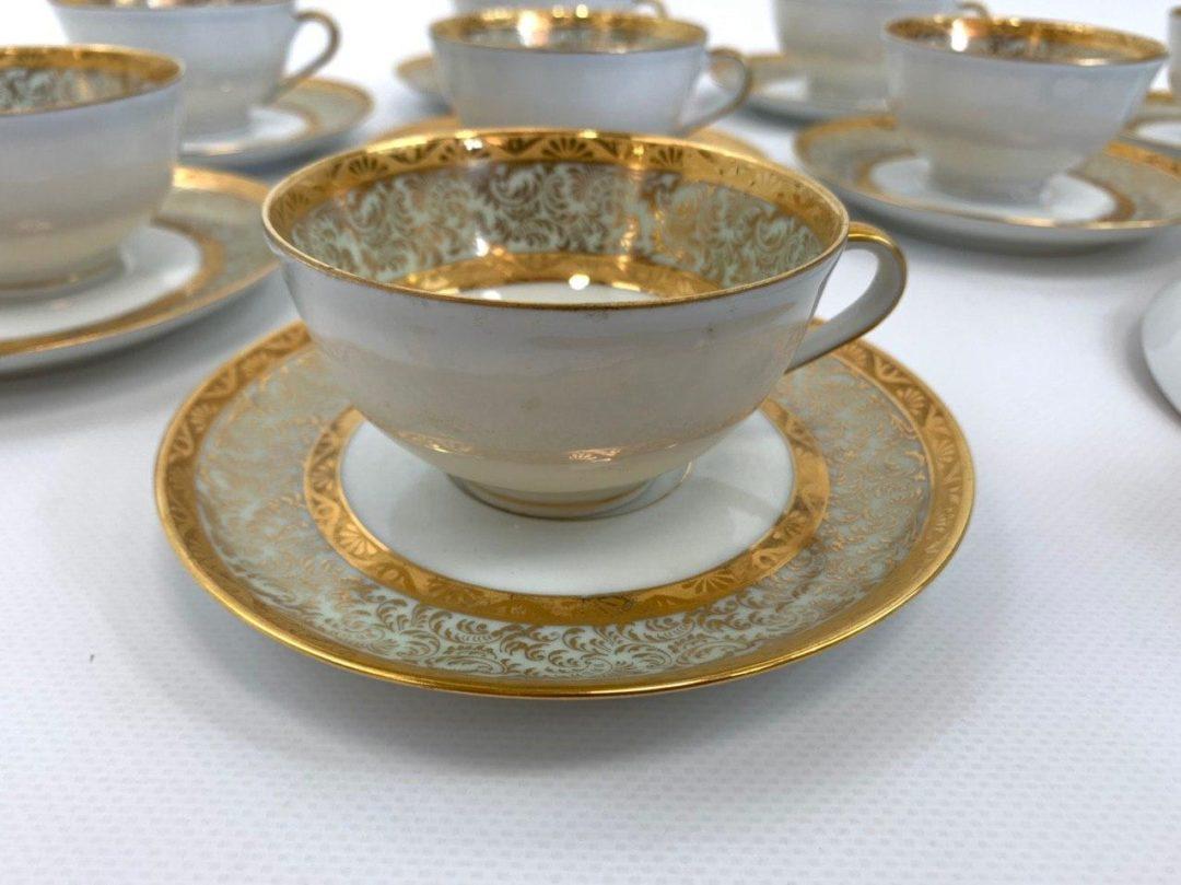 Винтажный кофейный сервиз от Limoges