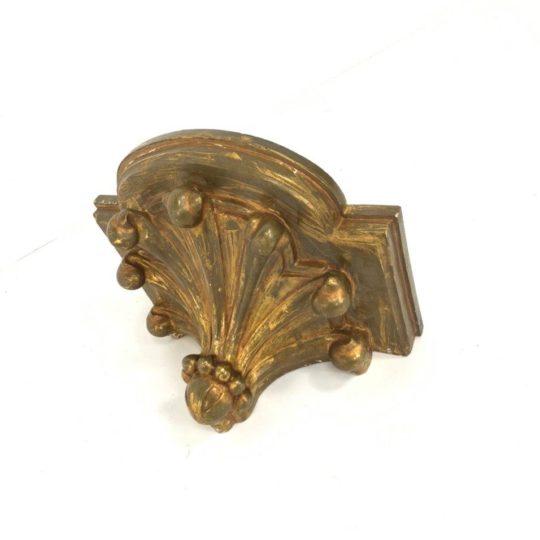 Антикварная деревянная консоль