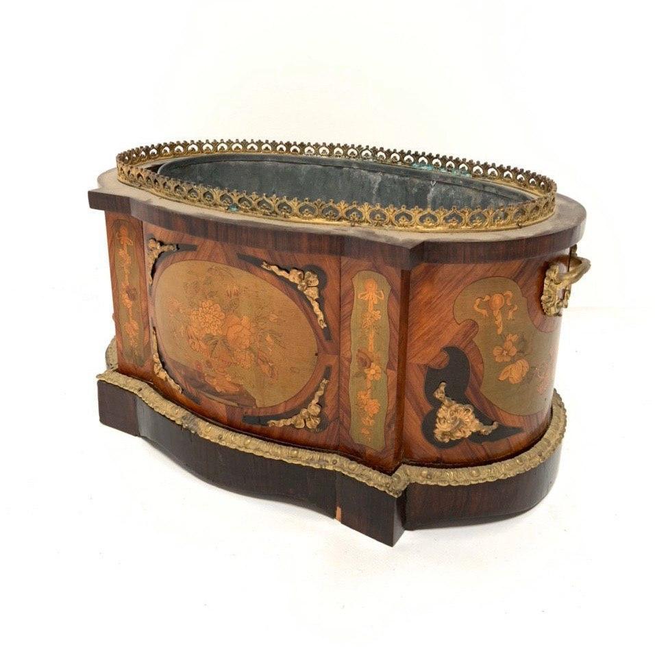 Антикварное кашпо эпохи Наполеона III