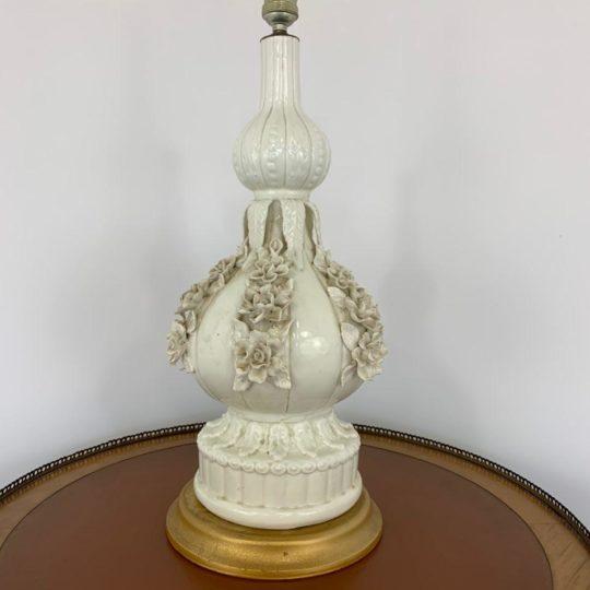 Винтажная керамическая лампа мануфактуры Manises