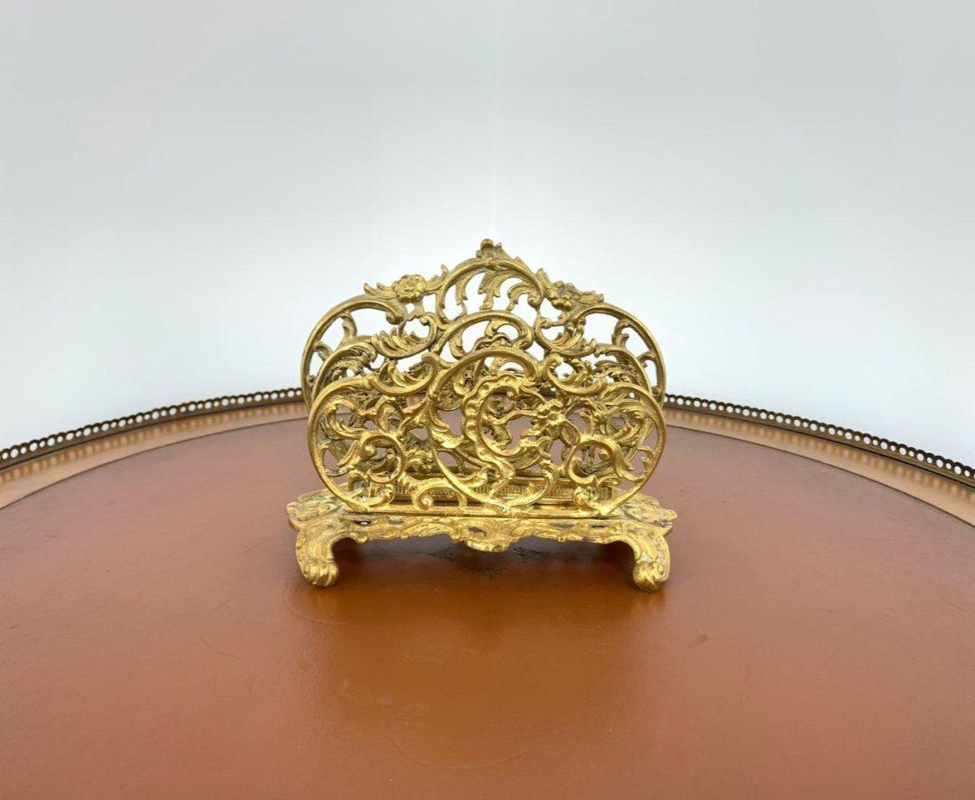 Винтажный классификатор из бронзы в стиле Рококо