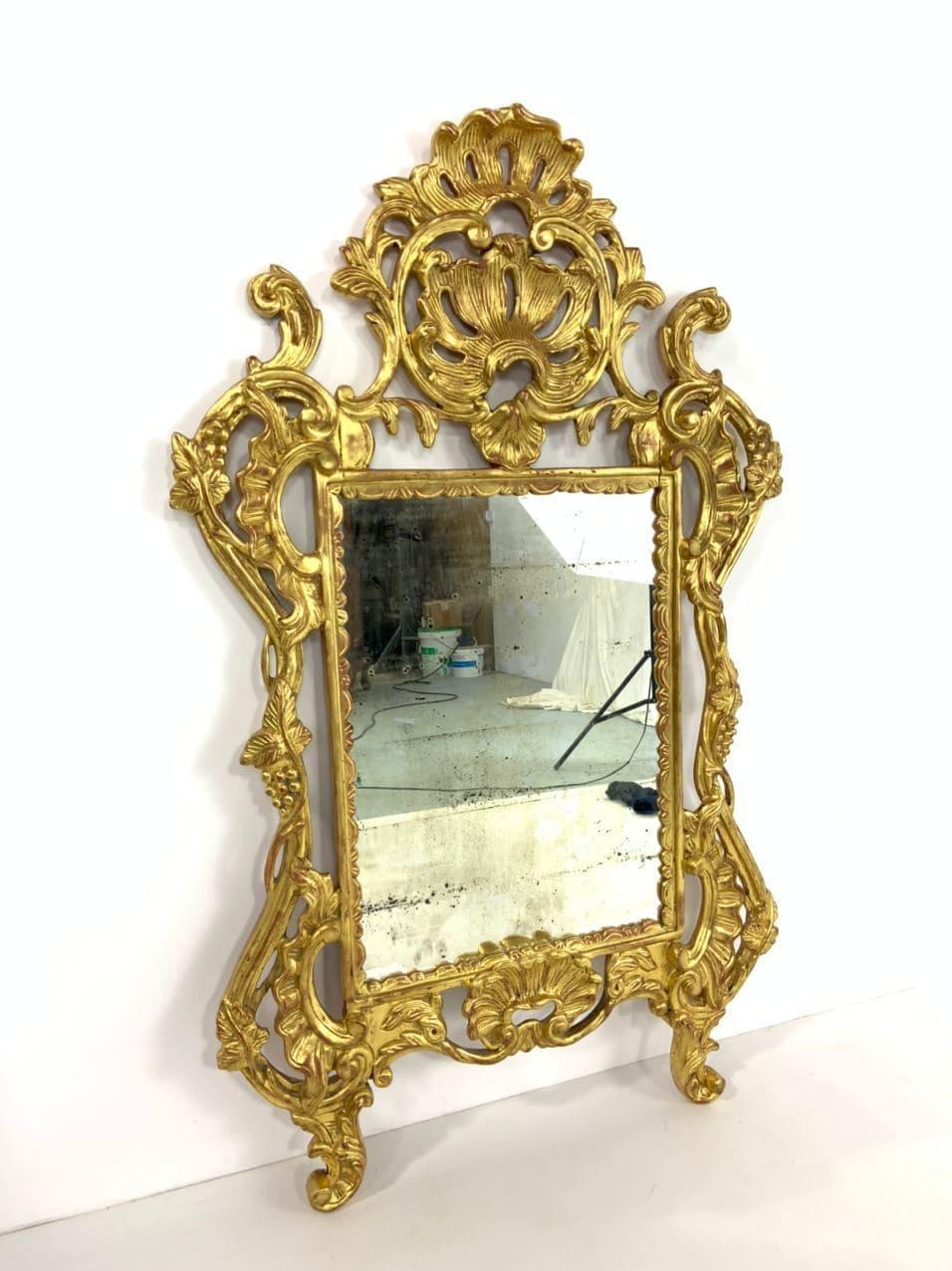 Антикварное зеркало