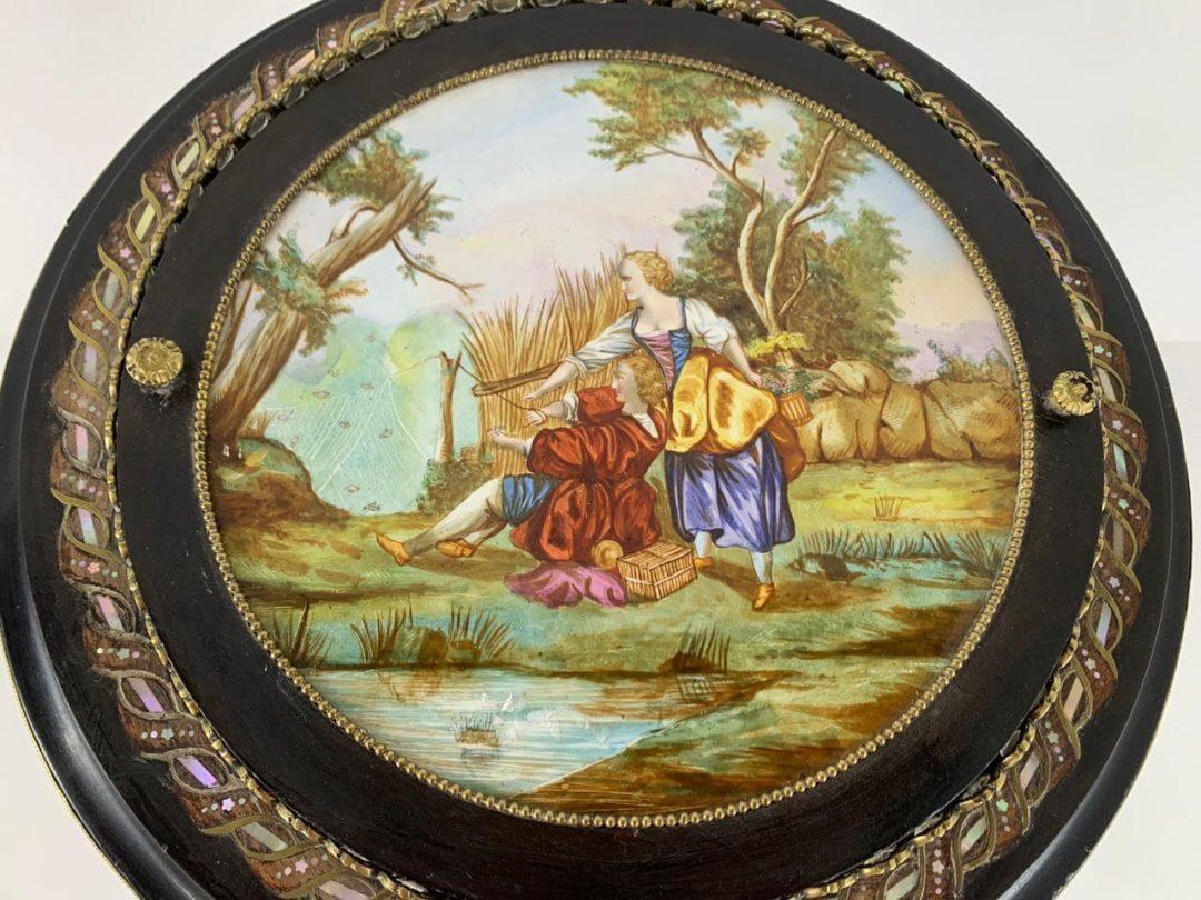 Антикварный столик-жардиньерка эпохи  Наполеона ІІІ