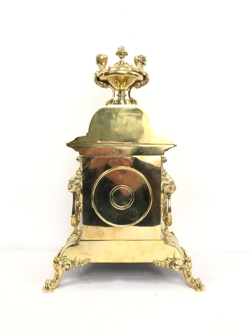 Антикварные часы из бронзы