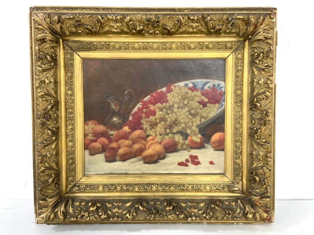 Антикварная живопись: натюрморт