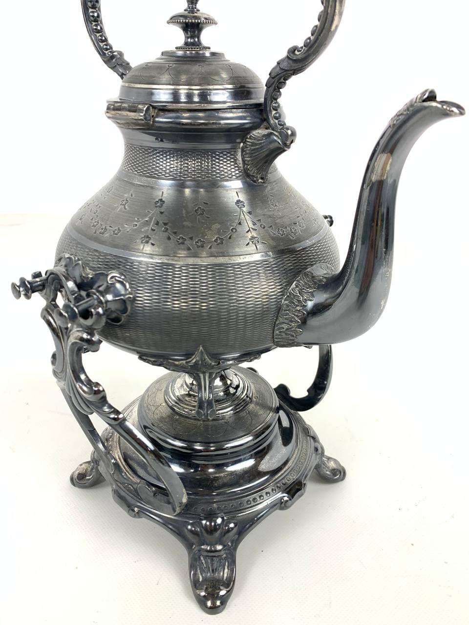 Антикварный чайник эпохи Наполеона III