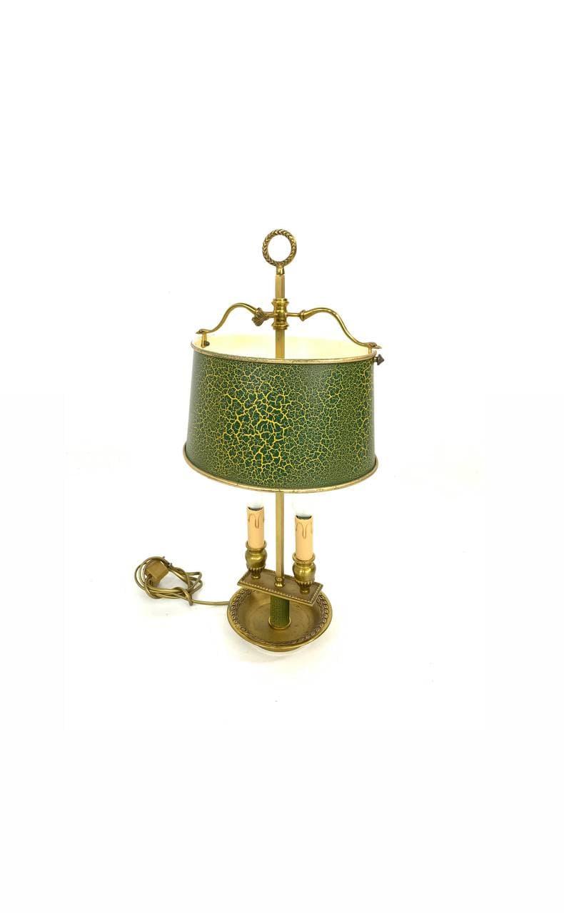 Винтажная настольная лампа в стиле Ампир