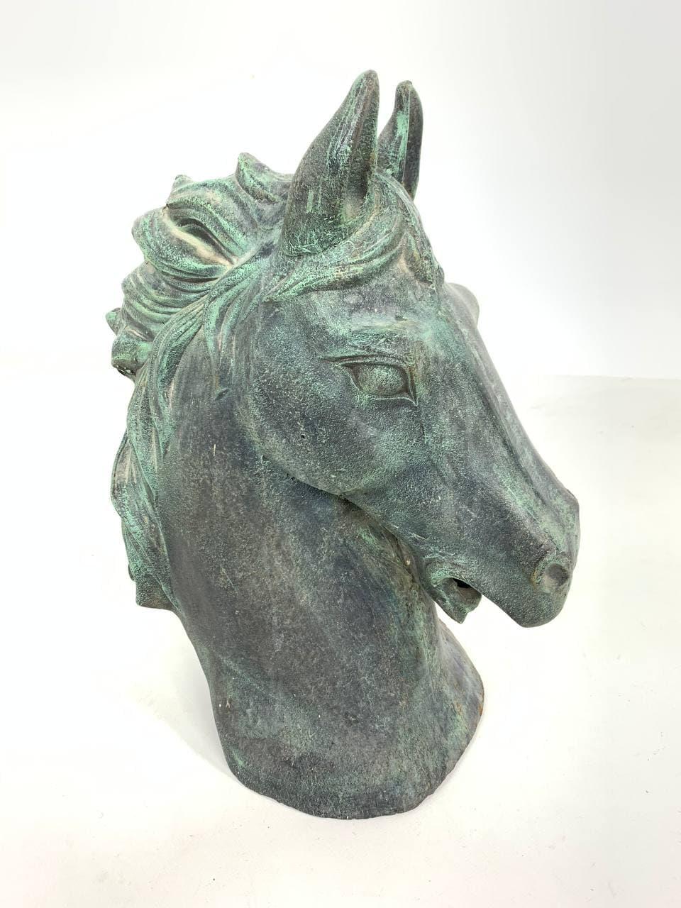 Винтажная чугунная скульптура