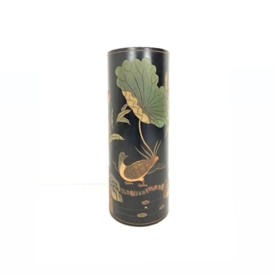 Винтажная колонна-подставка  в стиле Шинуазри
