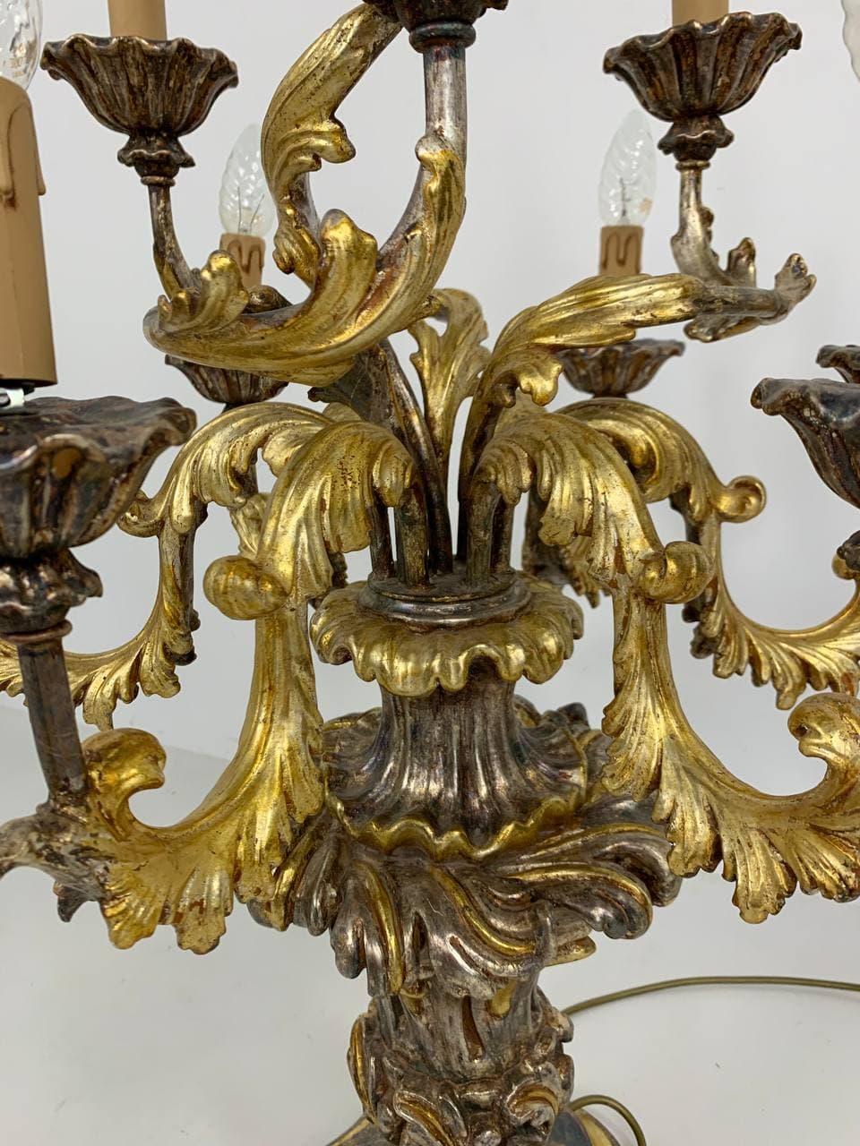 Винтажная лампа в стиле Барокко