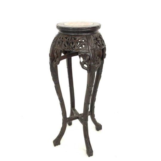 Антикварная стойка в азиатском стиле