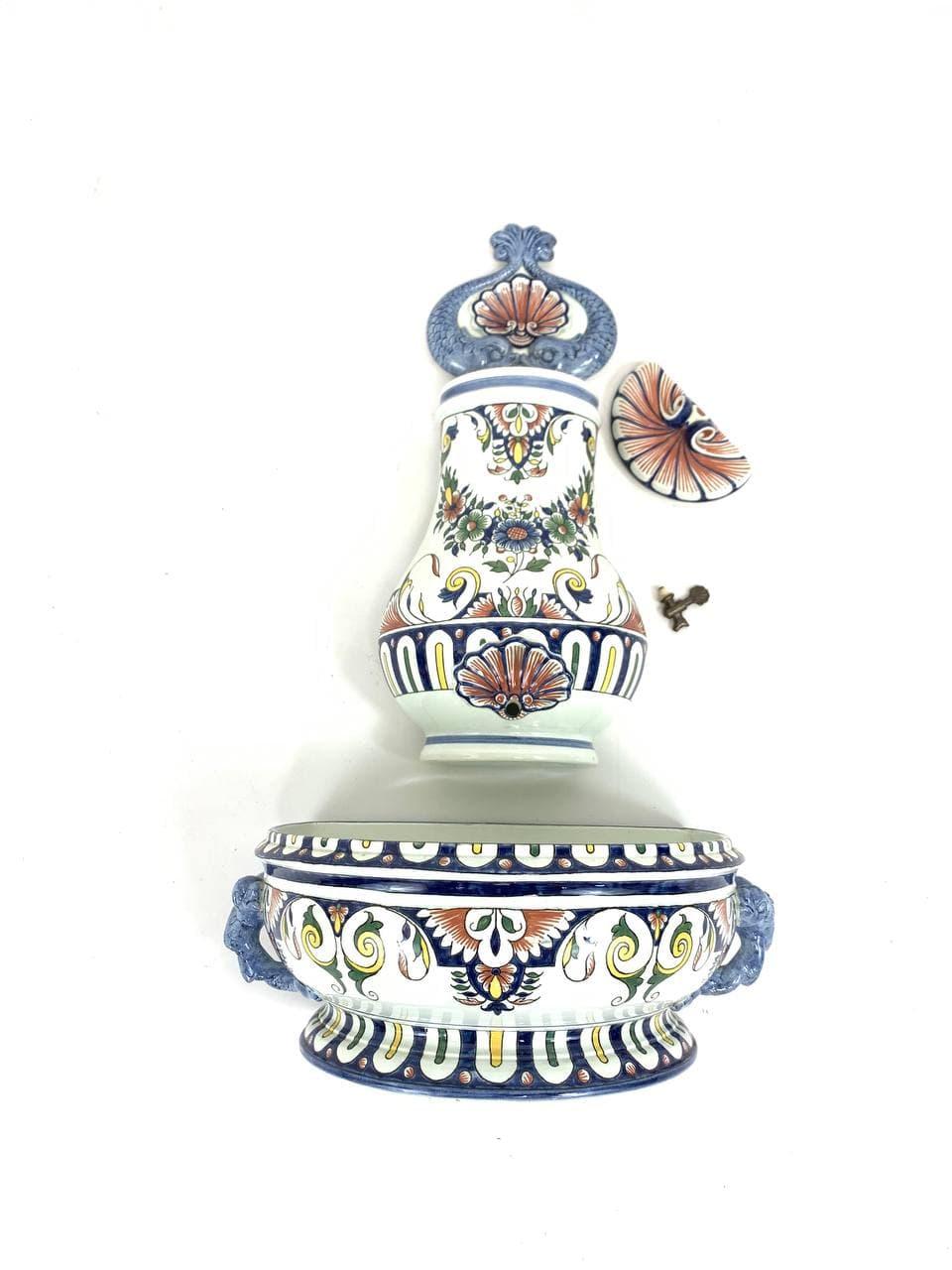 Винтажный декоративный умывальник марки Gien