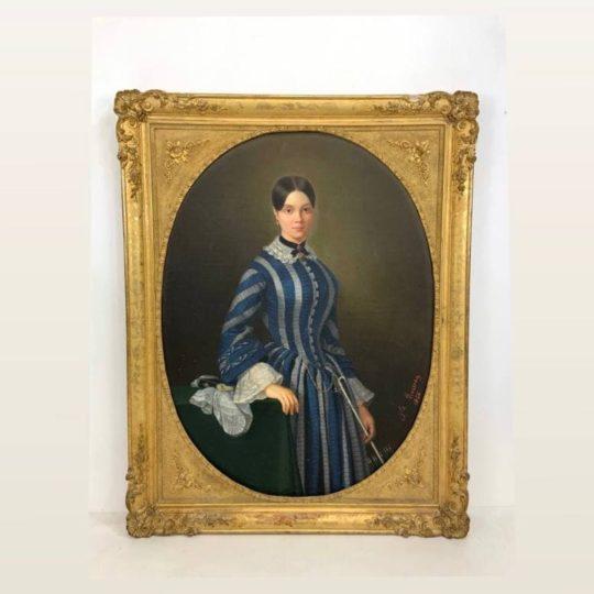 Антикварная живопись – портрет