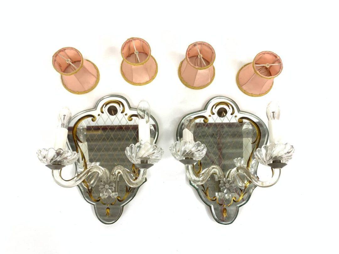 Антикварные бра в Венецианском стиле