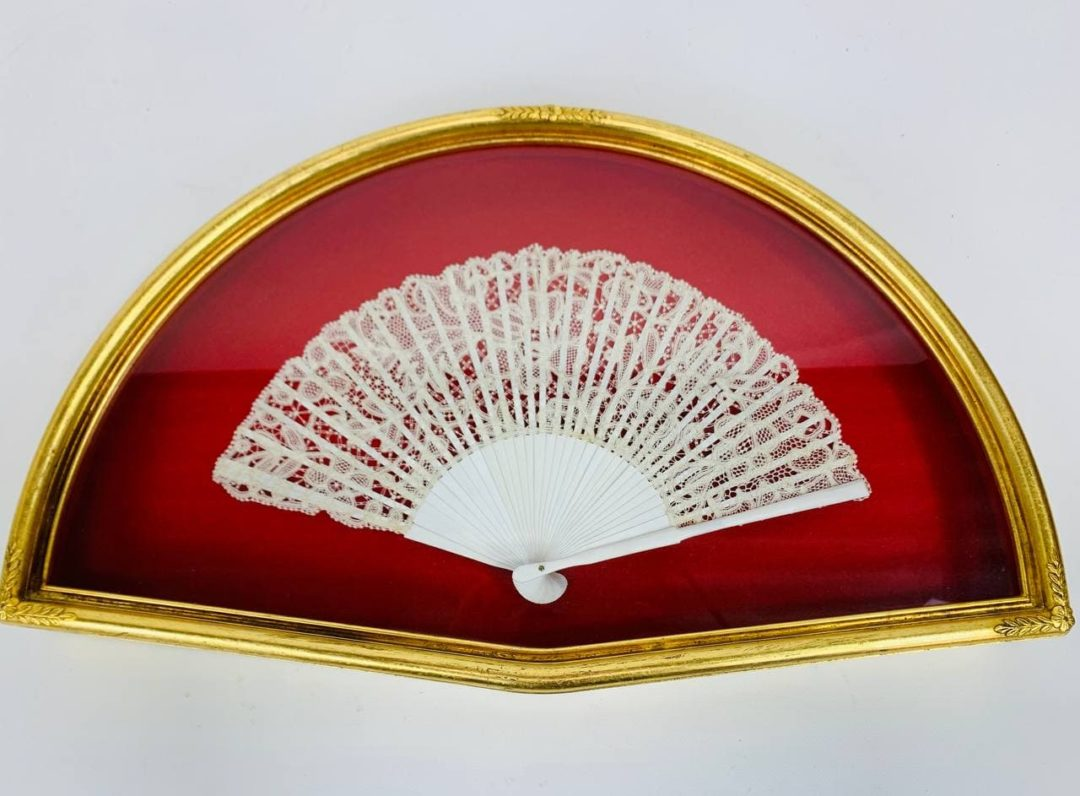 Антикварный веер