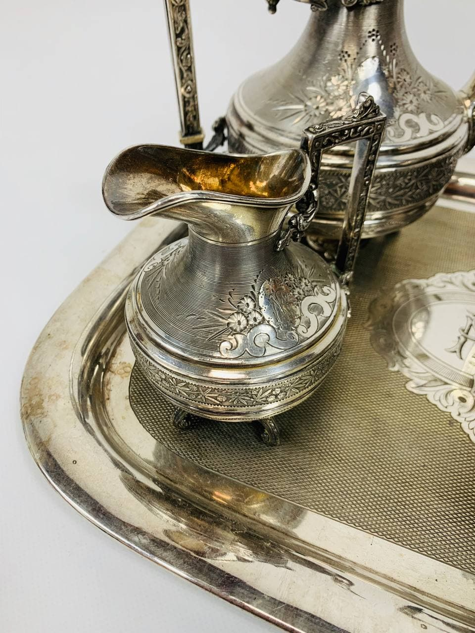 Антикварный кофейный сервиз